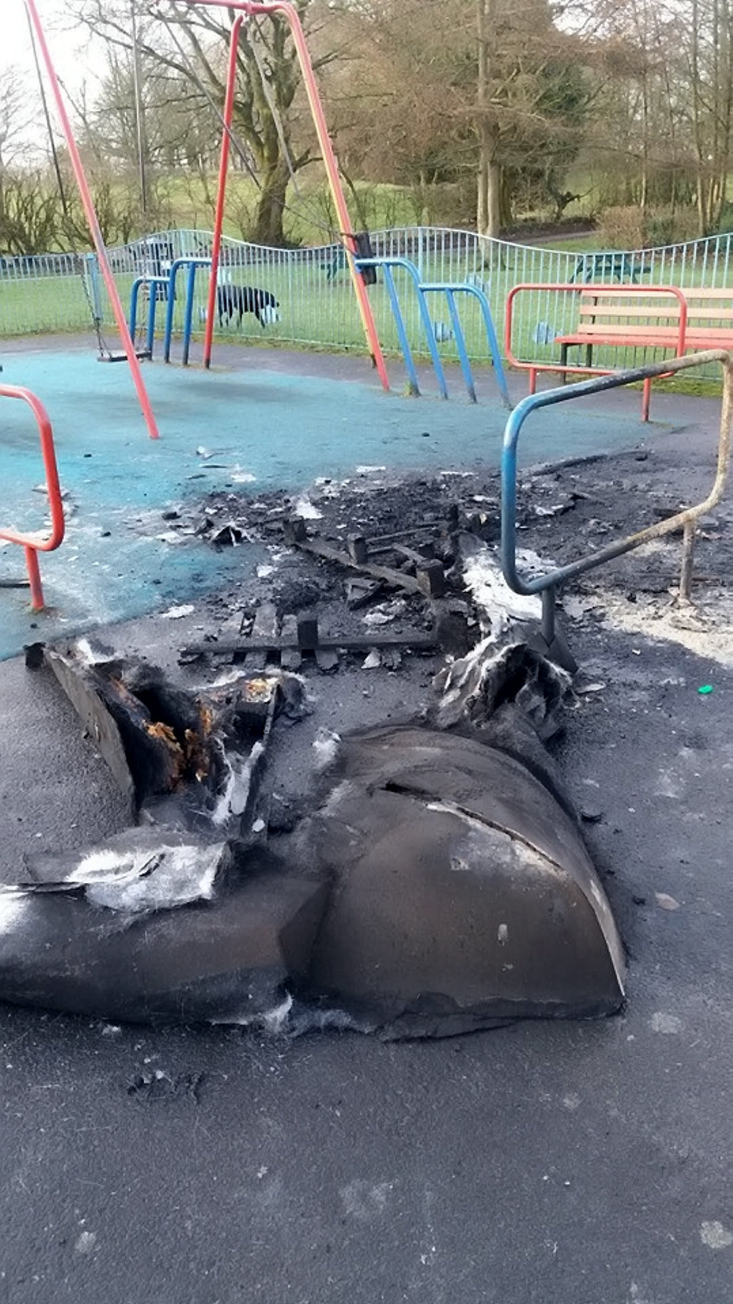 GMP have issued the warning after seeing an increase in the number of bins burned out. Credit: SWNS
