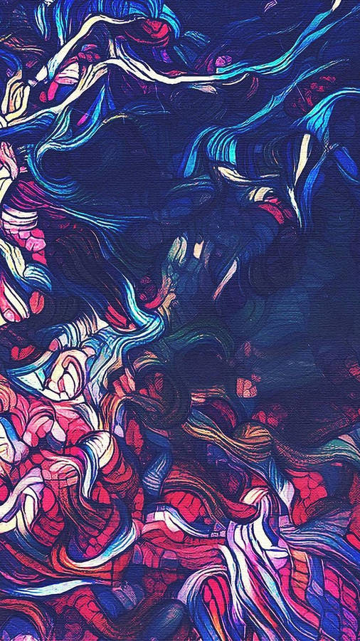 Citurs Pilled High, painting by Delilah Smith