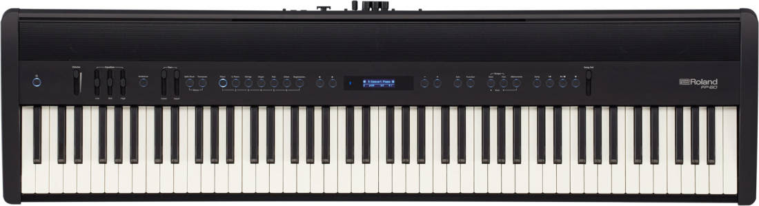 Roland Fp 60 Digital Piano W Speakers Black