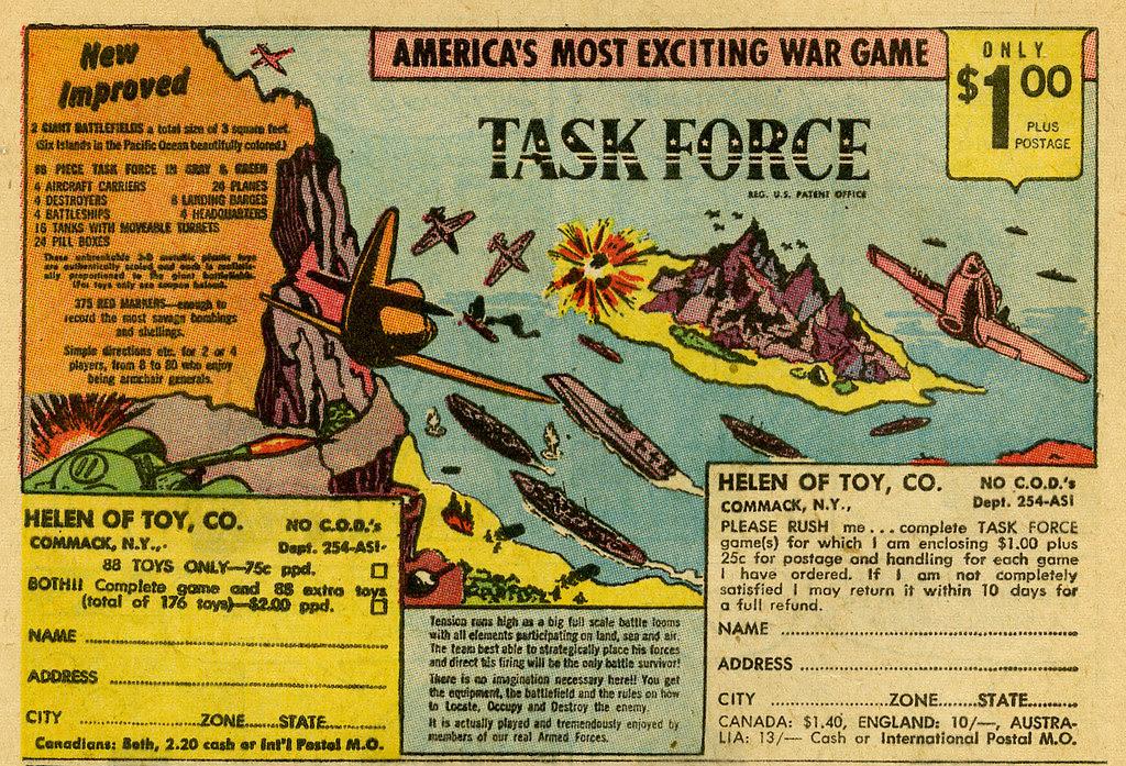 Task Force toy_tatteredandlost