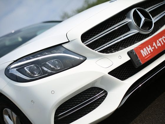 New 2015 Mercedes-Benz C-Class gets a distinct Avantgrade face