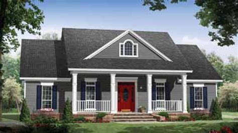 small country house plans  porches  small house