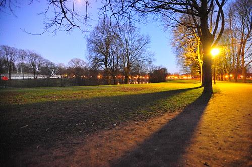 Frognerparken by night