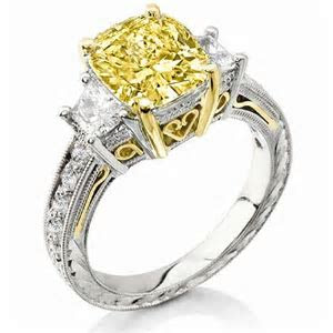 25  best Cushion cut diamonds ideas on Pinterest   Cushion