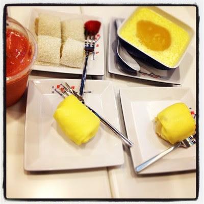 Lucky #dessert #food #mango #durian  (Taken with instagram)