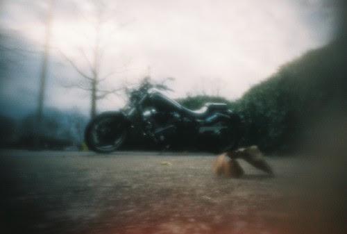 pinhole motorcycle