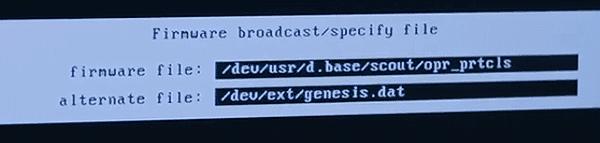 O programa no núcleo de Chappie é chamado genesis.dat.  É ainda uma outra referência sutil ao tema bíblico subjacente do filme.