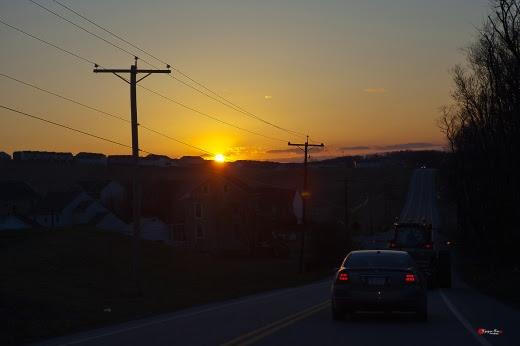 Trên đường trở về 016. Từ sáng sớm ra đi. Chiều tối trở về.