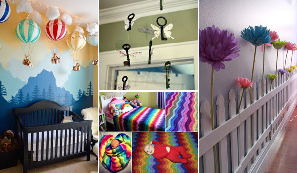Awesome DIY Ideas To Decorate a Baby Nursery