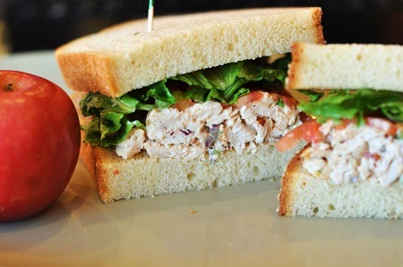 Canned Chicken Salad Recipe Sandwiches