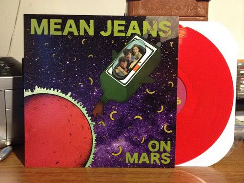 Mean Jeans - Mean Jeans On Mars LP - Red Vinyl (/300) by Tim PopKid