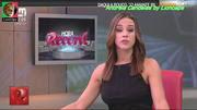 Andreia Candeias a sensual jornalista da Hora Record