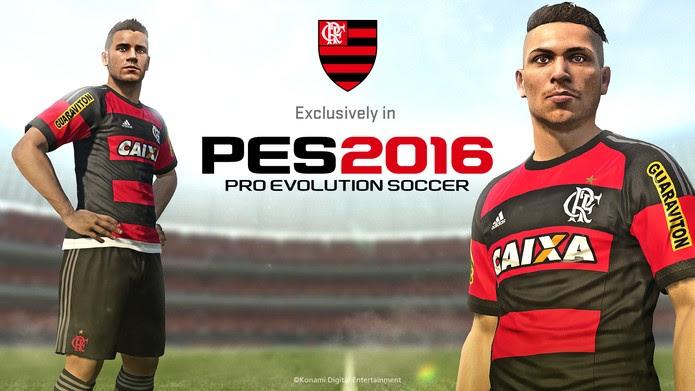 Flamengo já era exclusivo de PES 2016 (Foto: Divulgação/Konami)