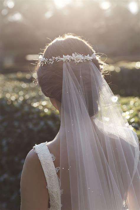 MARGAUX   crystal chapel wedding veil   TANIA MARAS
