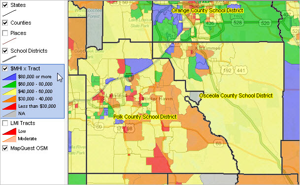 Osceola County Zoning Map Orange County Florida Zoning Map | Florida Map 2018