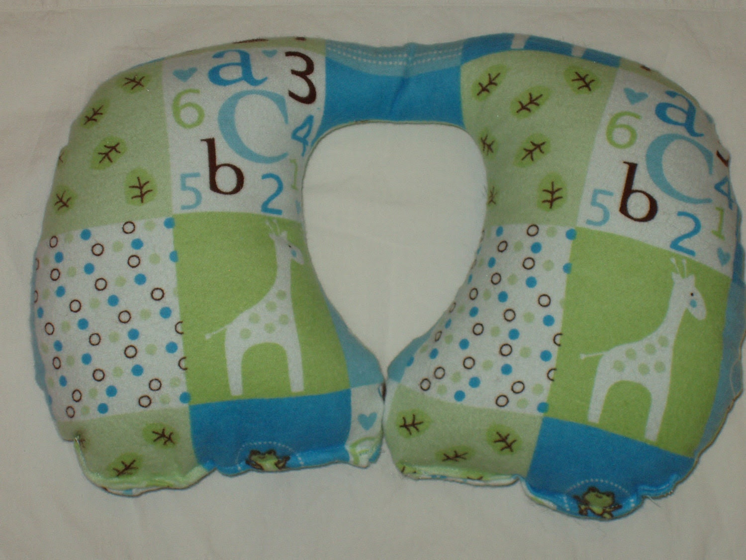 Travel Pillow - Infant Neck Support Car Seat Pillow - Baby Boy