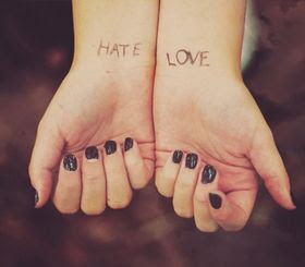 Hate Love Quotes Quotes About Hate Love Sayings About Hate Love
