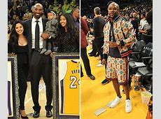 Kobe Bryant Jersey Night Marred By Mayweather's Terrible