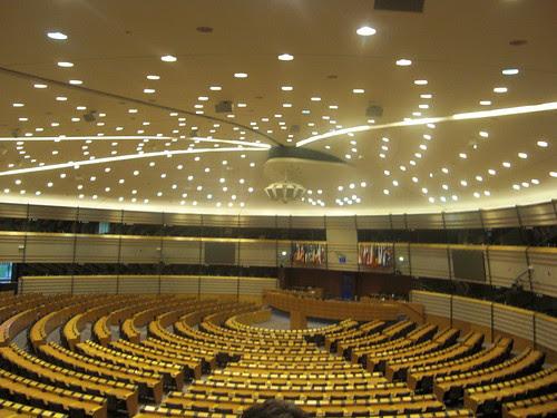 El Parlamento Europeo. Bruselas