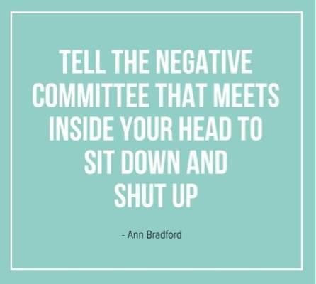 Negative committee-sit down & shut up!!
