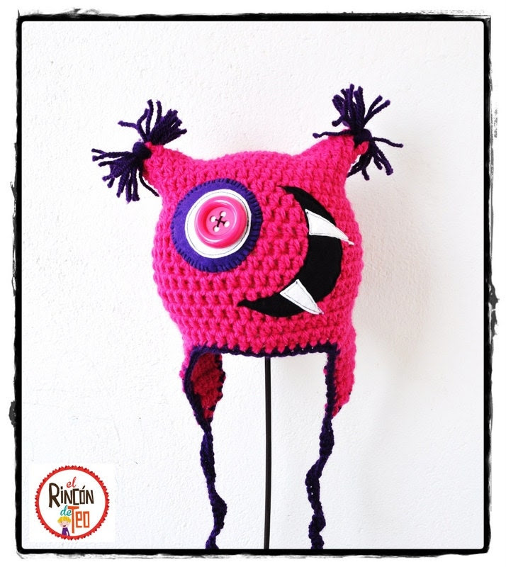 Crochet Hat  Big Mouth F