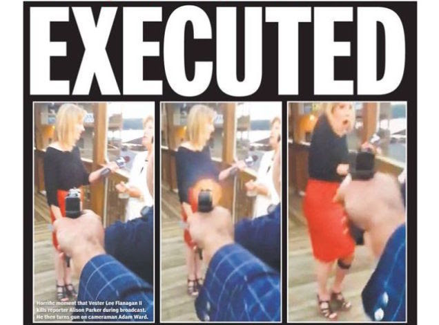 Ethics Verdict: The New York Daily News WDBJ Shooting Front Page ...