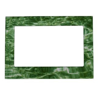 Green Water Photo Frame Magnet
