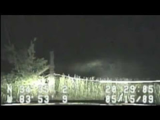 Bigfoot captado por Dashcam Policial / Bigfoot Caught On Dash Cam - A Closer Look