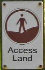 Access Land roundel : 2684b
