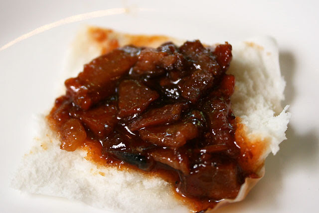 See the thinly sliced kurobuta pork char siew? They melt in your mouth!