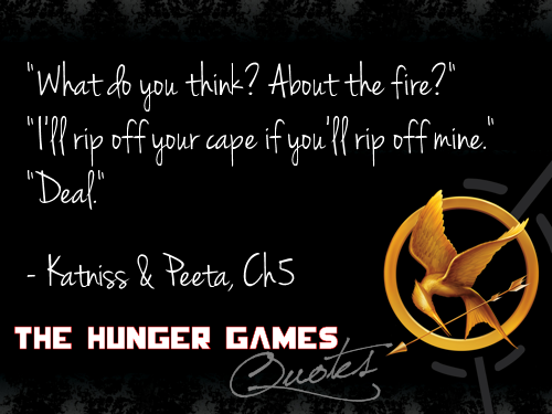 Hunger Games Quotes The Hunger Games Photo 26813029 Fanpop