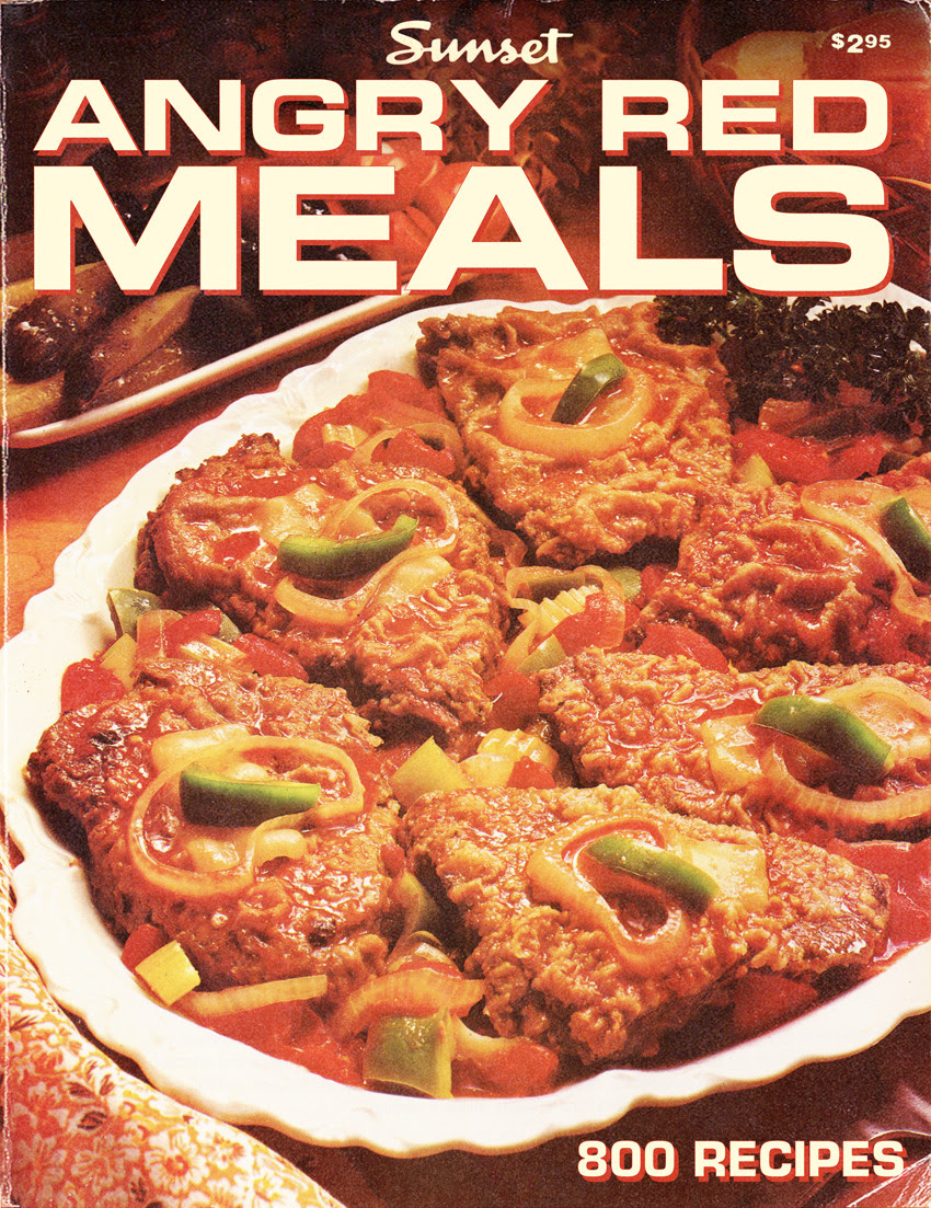 Angry Red Meals, Sunset Magazine, 1980