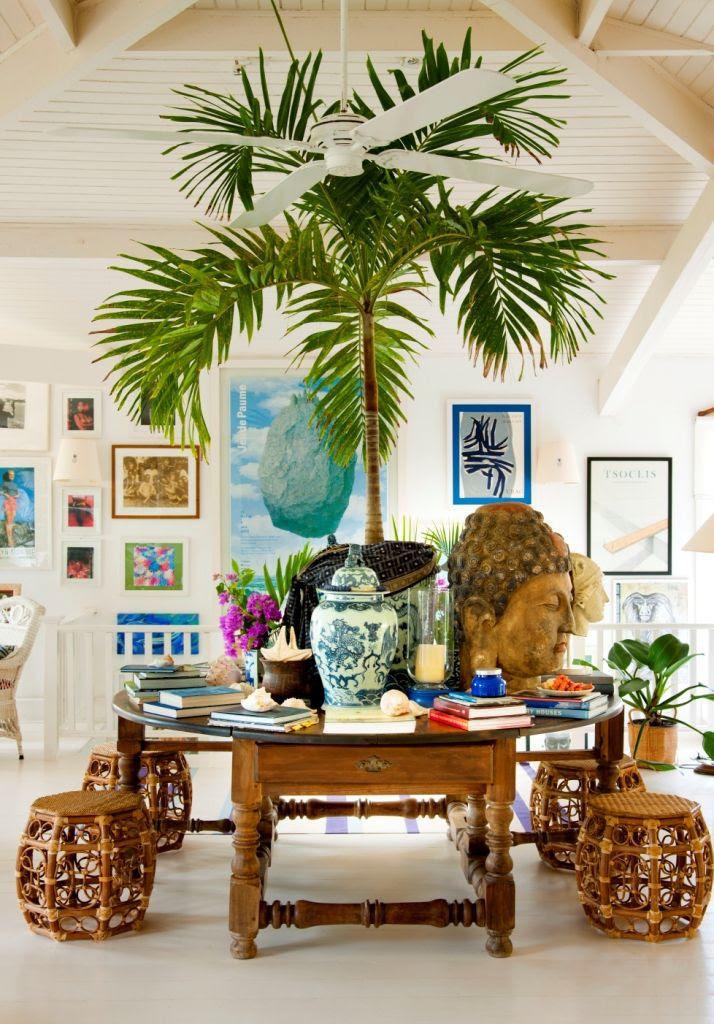 25 Tropical Living Room Design Ideas - Decoration Love