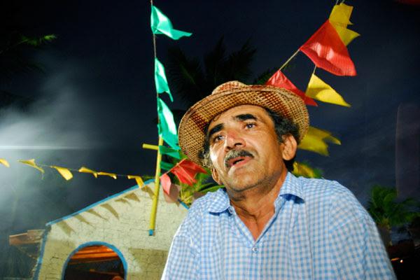 Paulo Varela gravou recentemente um CD onde recita cordéis de Chico Traíra