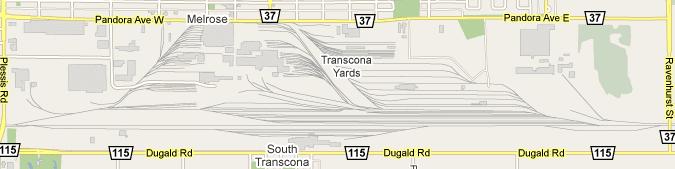 CN Transcona Yard