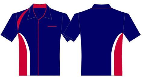 contoh desain kemeja  logo upt dindikpora kec salem