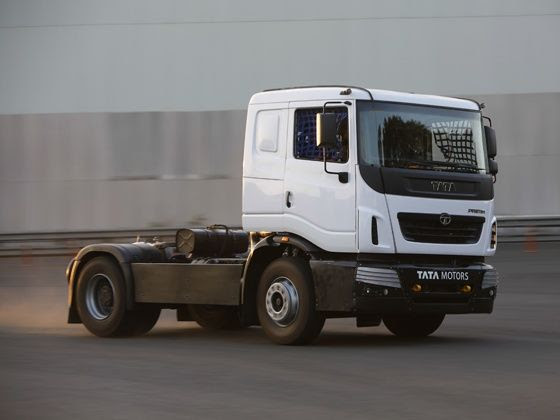 2015 Tata T1 Prima Race Truck driven at the Tata test track in Pune