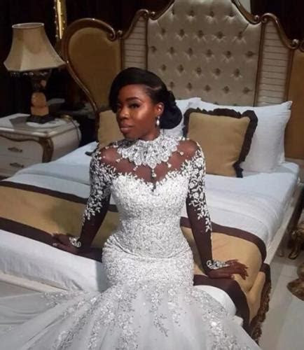 Court Wedding Dresses In Nigeria: Ultimate 2018 Collection