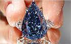 World's largest flawless fancy vivid diamond