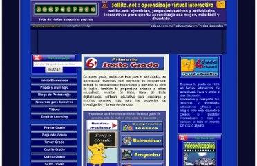 Sallita.net: Ingles Interactivo Virtual