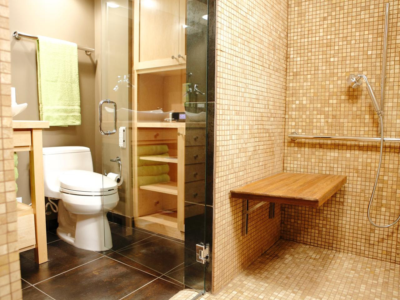 Eco-friendly Cork flooring in bathroom – HomesFeed