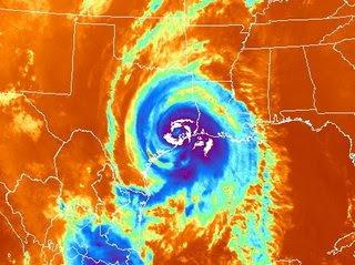 Hurricane Ike (infrared)