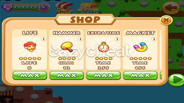 Bubble Witch 2 Saga v1.53.6 Cheats