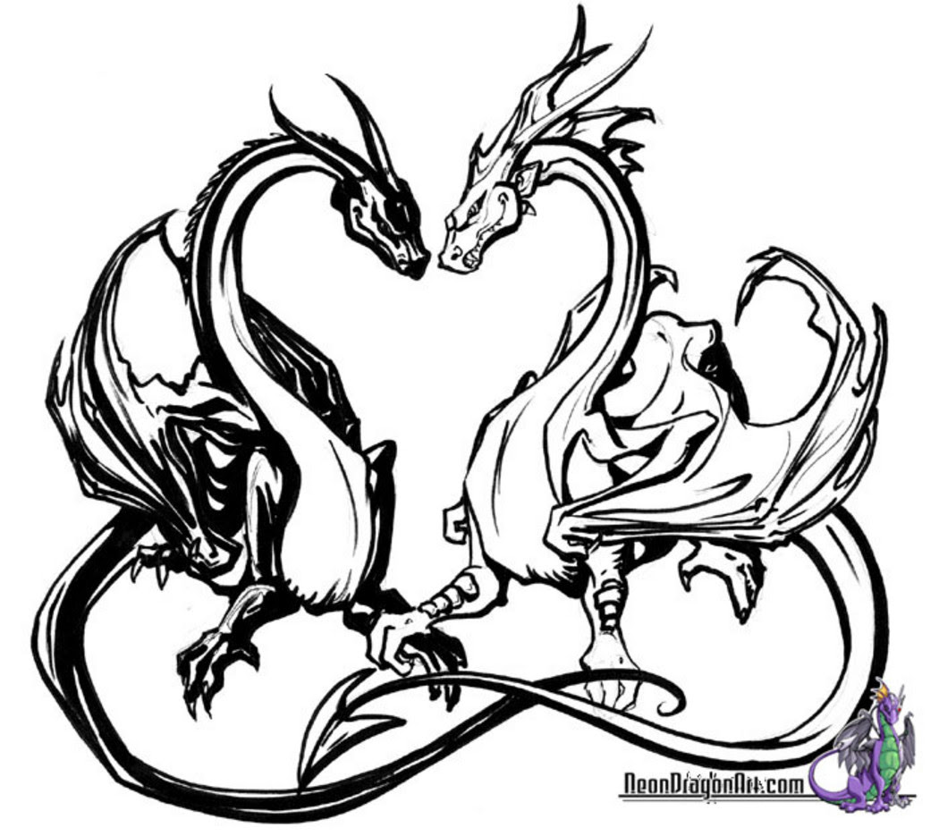 Coloriages à Imprimer Dragon Numéro 16374