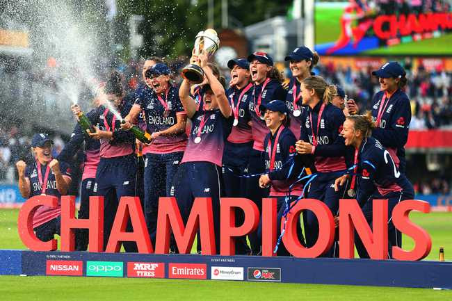 England, incidentally, lost to India in their tournament opener. Since then, however, they didn't drop a game on their way to title win.