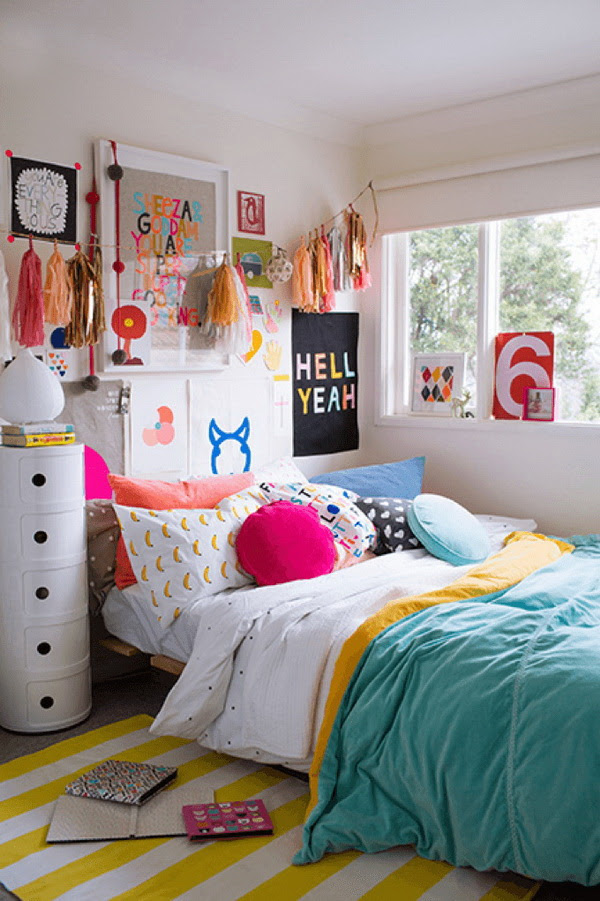 40+ Cool Teenage Girls Bedroom Ideas - Listing More