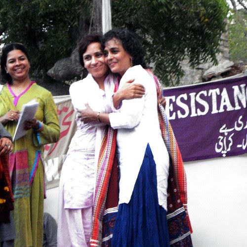 Arundhati Roy in Pakistan