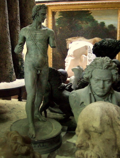 Inside of the Sculpture room