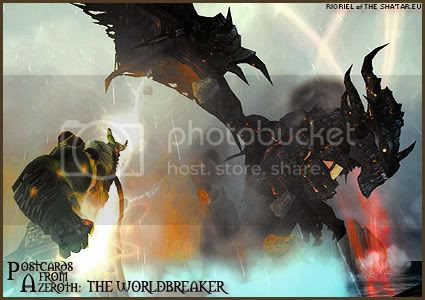 Postcards of Azeroth: The Worldbreaker, by Rioriel Ail'thera of theshatar.eu