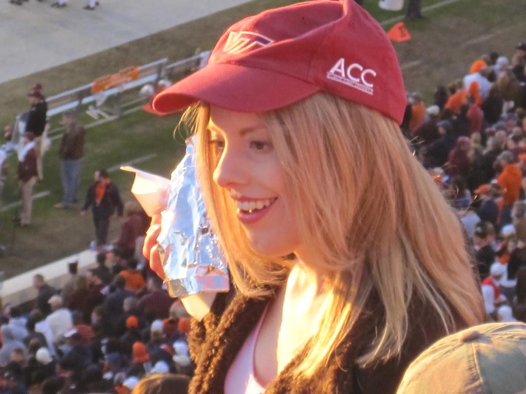 Typical Virginia Tech fan